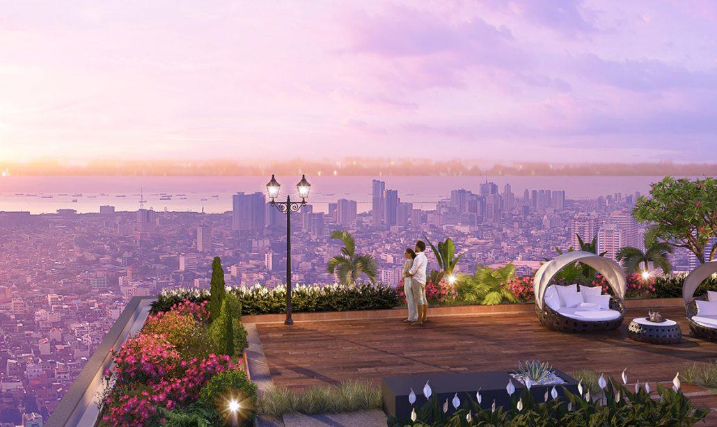 Lầu vọng cảnh của dự án Imperia sky garden