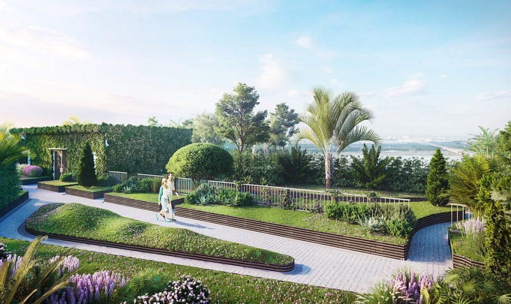 Đường dạo bộ Imperia sky garden