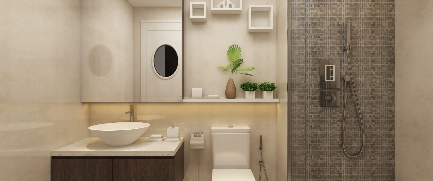 Bath room imperia sky garden