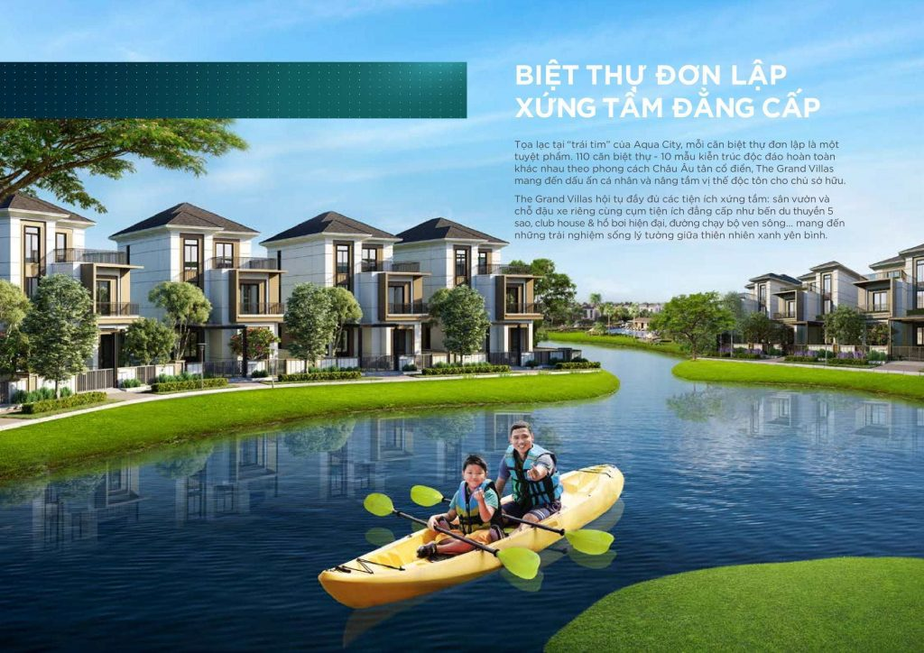 biet thu don lap aqua city